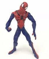 "MARVEL TOYBIZ SPIDER-MAN LOOSE ACTION FIGURE 6"" TALL COMICS LEGENDS 2002"