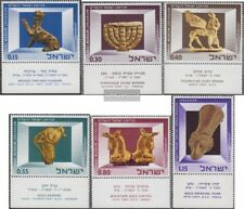 Israel 371-376 with Tab (complete issue) unmounted mint / never hinged 1966 Art