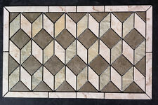 "23""x14 1/4"" 3D Ceramic Tile Medallion, , Daltile's Brancacci, floor or wall."