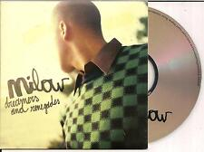 MILOW - dreamers and renegades CD SINGLE CARDSLEEVE 2007 Belgium