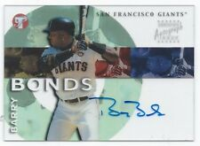 2002 Pristine Personal Endorsements Barry Bonds Auto Signed San Francisco Giants