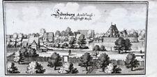 c1650 Siedenburg Niedersachsen Kupferstich-Ansicht Merian
