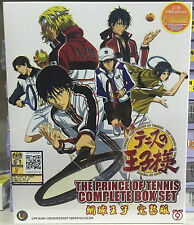 Anime DVD: The Prince Of Tennis COMPLETE Set_TV Series+Movie+OVA+SP_FREE SHIP'
