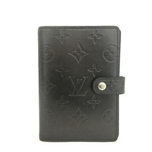 Louis Vuitton Monogram Mat Agenda PM Notebook Cover /82691