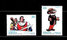 ESPAÑA 1995 3359/0 Comics .Capitán Trueno. Carpanta 2v. José Escobar