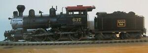 CB&Q  4-6-0  K-2  No 637  Engine by Nickel Plate