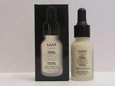 NYX Total Control Drop Foundation color TCDF01 Pale 0.43 oz New In Box