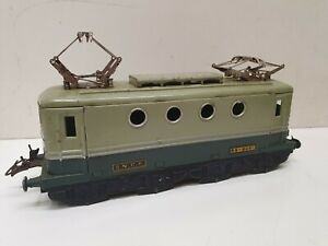 Hornby caisse bicolor de locomotive electrique bb 8051  en 0
