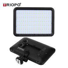Triopo Studio Ultra-Thin 204 LED Video Light Lamp Panel 5600K/3200K Dimmable