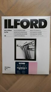 """Ilford MGIV Multigrade IV RC Deluxe Glossy Photographic Paper 5x7"""" 25 Sheet Pack"""