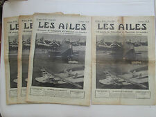 AILES 1939 930 BOEING 314 MILES FOSTER WICKNER WICKO GUERRE ESPAGNE LEOPOLDOFF