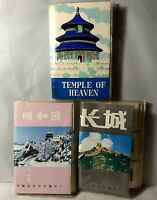 CHINA VTG LOT 60 SLIDES Summer Palace Great Wall Temple of Heaven 3 Book Beijing