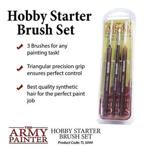The Army Painter Hobby Starter (3 Piece) Brush Set TL5044