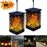 4 Pack 99 LED Waterproof Flickering Flame Solar Torch Light Garden Lamp Outdoor