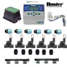 kit irrigazione Hunter 6 stazioni zone con centralina ELC programmatore completo