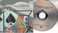 AMANDA PALMER & EDWARD KA-SPEL I Can Spin A Rainbow 2017 UK 9-trk promo CD