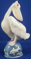 Fun Nymphenburg Porcelain Pelican Bird Figurine Porzellan Pelikan Figur Figure