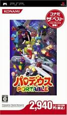 Used PSP Parodius Portable Konami the Best Japan Import 52
