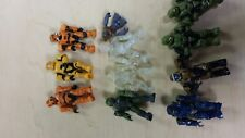 Halo Mega Bloks Mini Figures  Lot of 11 Mini Figs