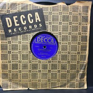 78 rpm jukebox Record Peter Uryga And His Motor City Band SUNNYSIDE POLKA DECCA
