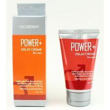 Doc Johnson Power + Delay Cream for Men Male Genital Desensitizer Desensitizing