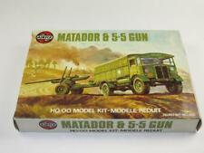 AIRFIX OO SCALE MODEL KIT Matador & 5.5 Inch Gun WWII in Type 5 Box