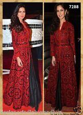 indian salwar kameez designer bollywood replica pakistani drape ethnic dress new