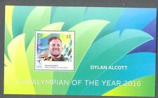 Australia-Paralympian of 2016 mnh special Min sheet-limited issue mnh