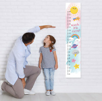 Fairy Princess Customised Height Growth Chart 8 matching Wall Stickers Set