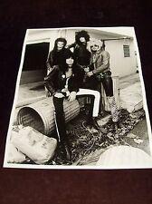 "MOTLEY CRUE PHOTO WET PRINT1981 11"" x 14"" GUNS N ROSES POISON IRON MAIDEN"