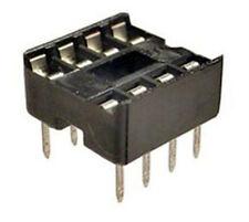 8 Pin IC Socket - NOS - Lot of 10