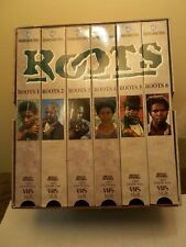 ROOTS THE SERIES ON 6 VSH TAPES