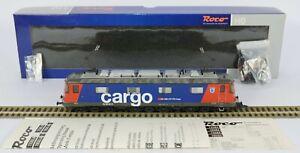 ROCO HO 72582 SWISS SBB 620 Re6/6 SUPER RUNNER DIGITAL INTERFACE V Nr MINT