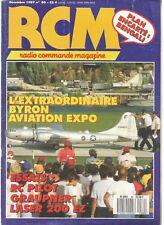 "RCM N°80 PLAN : ""LE BENGALI"" AVION RAPIDE / MINI BIJAVE / BUSARD / LASER 200 EZ"