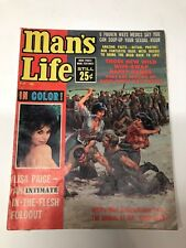 MAN's LIFE MAGAZINE NUDE CENTERFOLD LISA PAIGE TORTURE COVER FREE SHIPPING