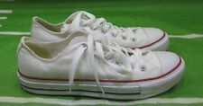 M7652 Converse Shoes Chuck Taylor Ox All Star White Sneakers Men 6 Wo 8