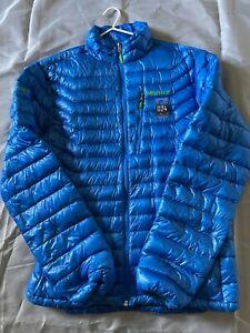 Men's Marmot Down Jacket - Blue - Size L - 024