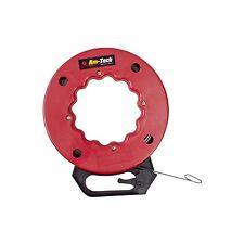 Amtech 50FT cinta de pescado de acero del resorte flexible con tirar lazo
