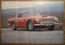 ASTON MARTIN DB5 COUPE orig 1964 Sales Brochure