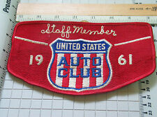United States Auto Club 1961 Arm Band Patch (#Lg)