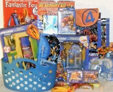 NEW FANTASTIC FOUR MARVEL EASTER TOY GIFT BASKET BATH TUB TOYS PLAYSET BIRTHDAY
