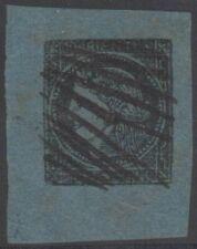 ARGENTINA CORRIENTES 1856 CERES Sc 1 CORNER MARGINAL SINGLE PEN CANCELLED XF