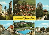 LUFTKURORT RAUSCHENBERG POSTCARD - MULTIVIEWS - NEW & PERFECT
