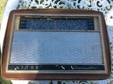 VINTAGE ASTOR TRANSISTOR RADIO IN ORIGINAL LEATHER CASE
