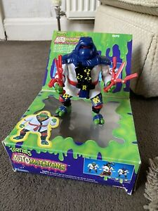 Teenage Mutant Hero Turtles AutoMutations Raph Figure Ideal/Playmates 1992 & Box