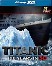 Titanic - 100 Years In 3D (Blu-ray, 2012)  Region B