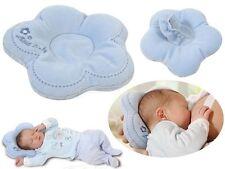 Babykopfkisssen Kissen Lagerungskissen Stillkissen FLOR Öko-Tex 100 blau