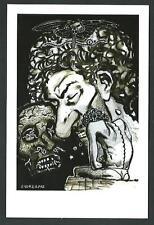 Andrea Pazienza : Gli ultimi giorni di Pompeo - cartolina realizzata nel 2013