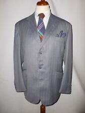 REID & TAYLOR SCOTLAND  SILVER GOOSE TWEED  JACKET  SIZE  UK 44, BRITISH MADE
