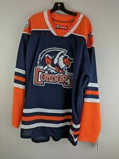Men's AHL Condors Official Replica Jersey -Size 3XL- Blue/Orange